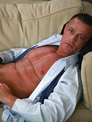 Hot office dad jackoff