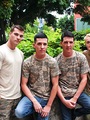 Dominic, Princeton Price, Jacob and Michael Stax