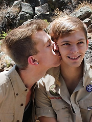 Bareback Scouts Earn A Badge