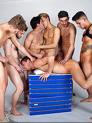 Top CockyBoys models have wild gay orgy